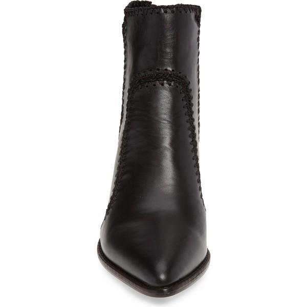 アレクサンドラバードマン ブーツ&レインブーツ シューズ レディース Alexandre Birman Benta Pieced Bootie (Women) Black Leather