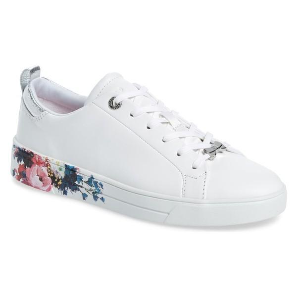 テッドベーカー スニーカー シューズ レディース Ted Baker London Roully Sneaker (Women) White Leather
