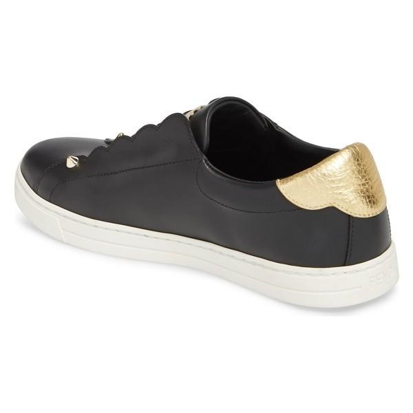 フェンディ スニーカー シューズ レディース Fendi Rockoclick Slip-On Sneaker Black