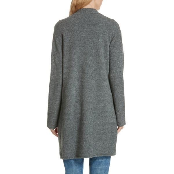 ジェニーケイン ニット&セーター アウター レディース Jenni Kayne Open Sweater Coat Grey