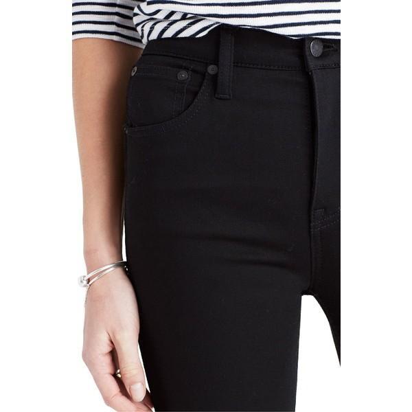 メイドウェル デニム ボトムス レディース Madewell 10-Inch High Rise Skinny Jeans Carbondale