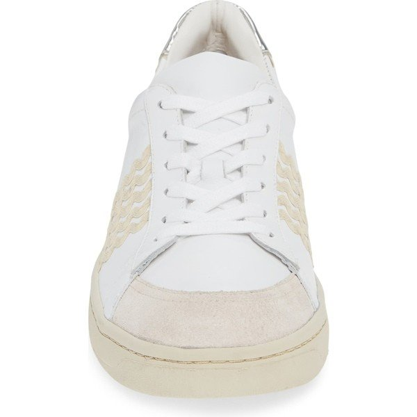 ロフラー ランダル スニーカー シューズ レディース Loeffler Randall Elliot Rickrack Sneaker (Women) White/ Natural