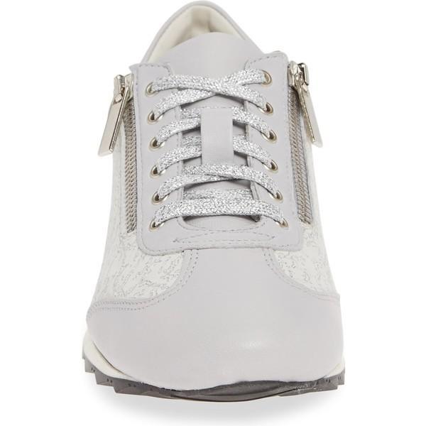 アマルフィーバイランゴーニ スニーカー シューズ レディース Amalfi by Rangoni Fedro Low Top Sneaker White Leather