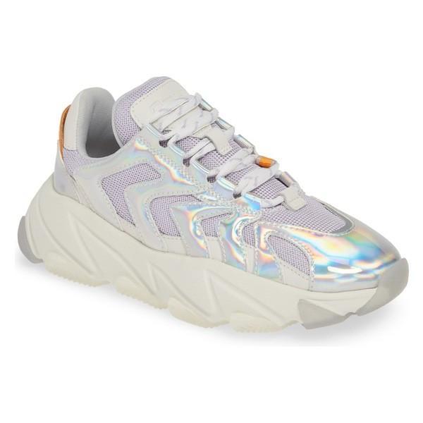 アッシュ スニーカー シューズ レディース Ash Extreme Platform Sneaker (Women) Silver/ Lavender/ Orange