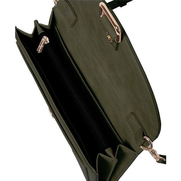アーバンオリジナルス ショルダーバッグ バッグ レディース Urban Originals The Edit Vegan Leather Crossbody Bag Army Green