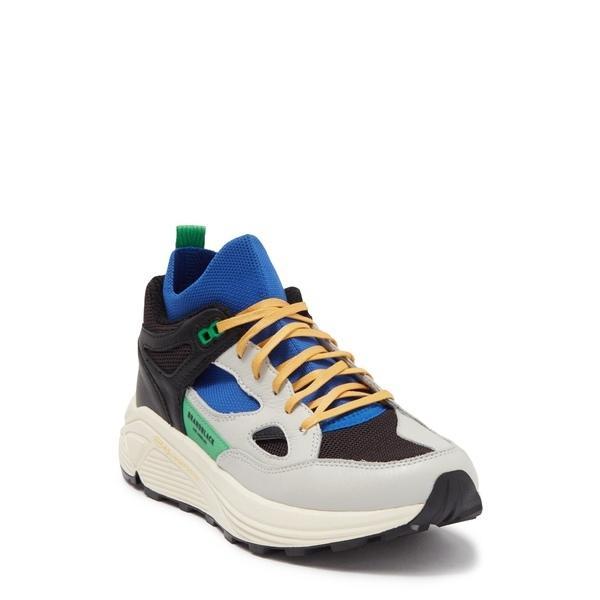 ブランドブラック スニーカー シューズ メンズ Aura Sneaker -