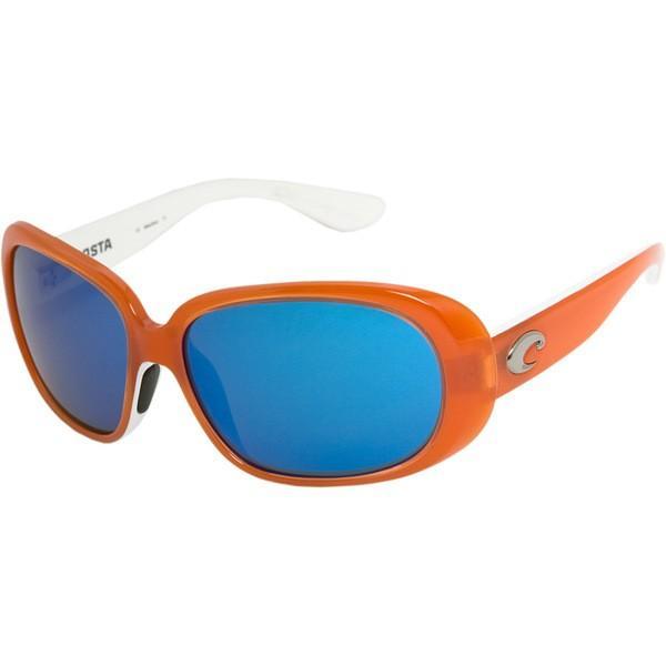 コスタ サングラス&アイウェア レディース アクセサリー Hammock Polarized Sunglasses - 580G Lens - Women's Salmon-White Crystal/Green Mirror