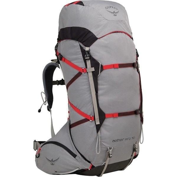 オスプレーパック バックパック・リュックサック レディース バッグ Aether Pro 70L Backpack Kepler Grey