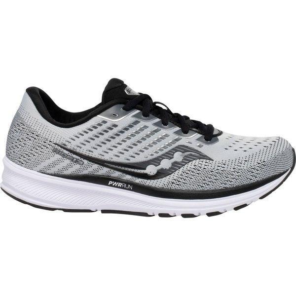 サッカニー シューズ メンズ ランニング Saucony Men's Ride 13 Running Shoes Alloy/Black
