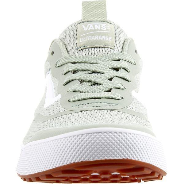 バンズ スニーカー シューズ レディース Vans Women's UltraRange Shoes GreenWhite