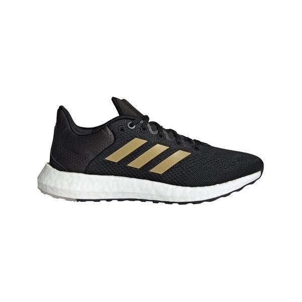 アディダス シューズ レディース ランニング adidas Women's Pureboost 21 Running Shoes Black/Gold