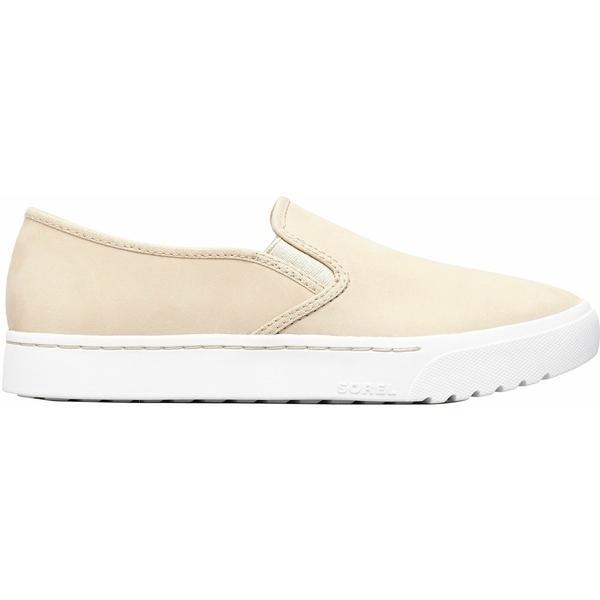 ソレル ブーツ&レインブーツ シューズ レディース SOREL Women's Campsneak Slip-On Casual Shoes Oatmeal