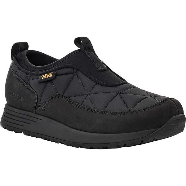 テバ スニーカー レディース シューズ Teva Women's Ember Commute Slip-On Waterproof Shoe Black