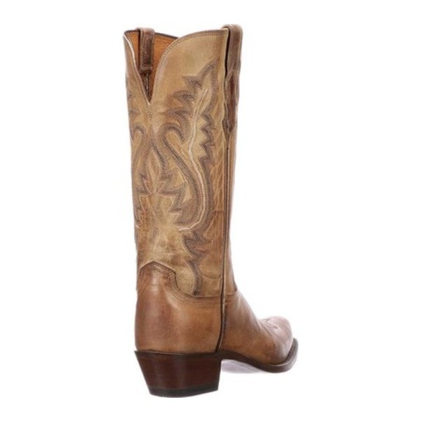 ルケーシー レディース ブーツ&レインブーツ シューズ Cassidy 7 Toe Western Boot Tan Goat