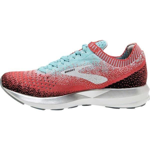 ブルックス レディース スニーカー シューズ Levitate 2 Running Shoe Coral/Blue/Black