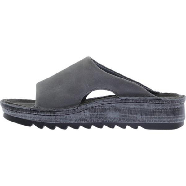 ナオト レディース サンダル シューズ Ardisia Slide Sandal Vintage Slate Leather