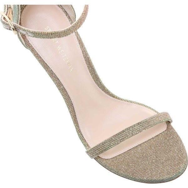 スチュアート ワイツマン レディース サンダル シューズ 75Nudisttraditional Suede Ankle Strap Sandal Gold Multi Nighttime