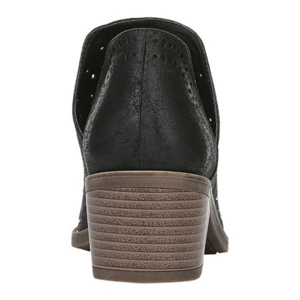 ファーガリシャス レディース ブーツ&レインブーツ シューズ Wyatt Ankle Bootie Black Oiled Fabric