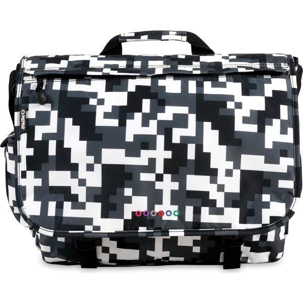 ジェイワールド メンズ ショルダーバッグ バッグ Thomas Laptop Messenger Bag Camo