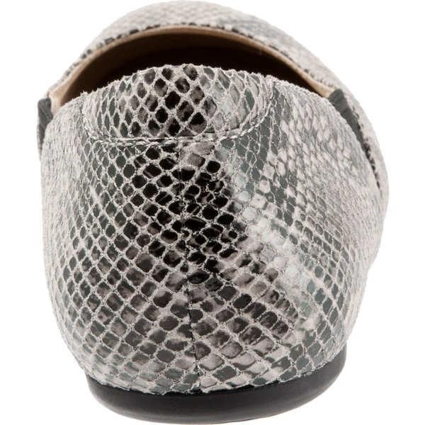 ソフトウォーク レディース サンダル シューズ Norwich Black/White Snake Print Leather