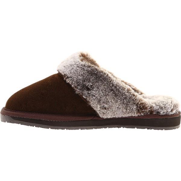 ポートランドブーツカンパニー レディース サンダル シューズ Self-Care Sunday Slipper Mule Chocolate Suede