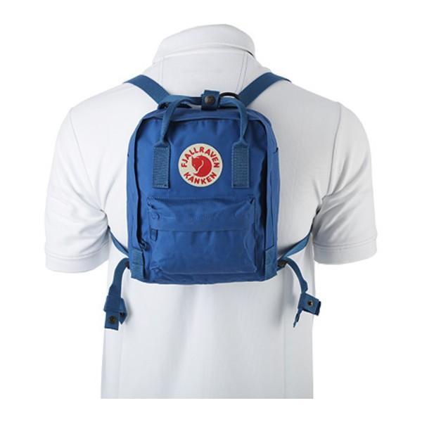 フェールラーベン メンズ バックパック・リュックサック バッグ Kanken Mini Royal Blue/Ox Red