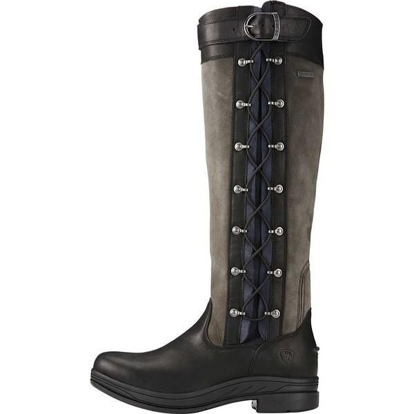 アリアト レディース ブーツ&レインブーツ シューズ Grasmere Pro GORE-TEX Knee High Boot Black Waterproof Leather/Suede - (RM - Regular)