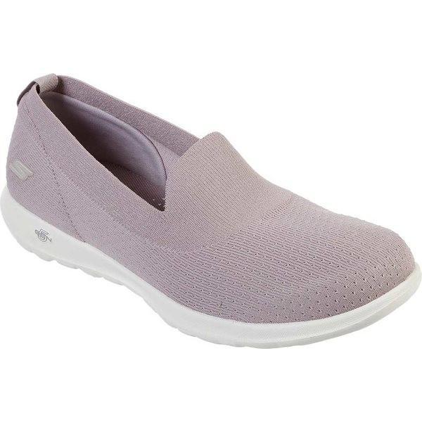 スケッチャーズ レディース サンダル シューズ GOwalk Lite Charming Slip-On Walking Shoe Lilac