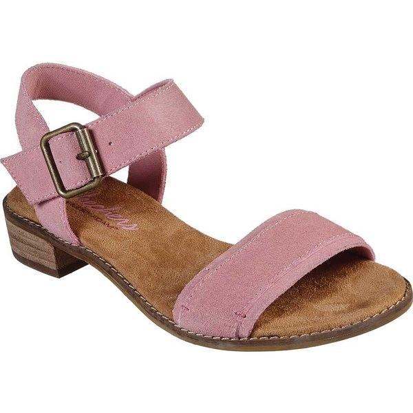 スケッチャーズ レディース サンダル シューズ Petaluma Alberello Ankle Strap Sandal Pink