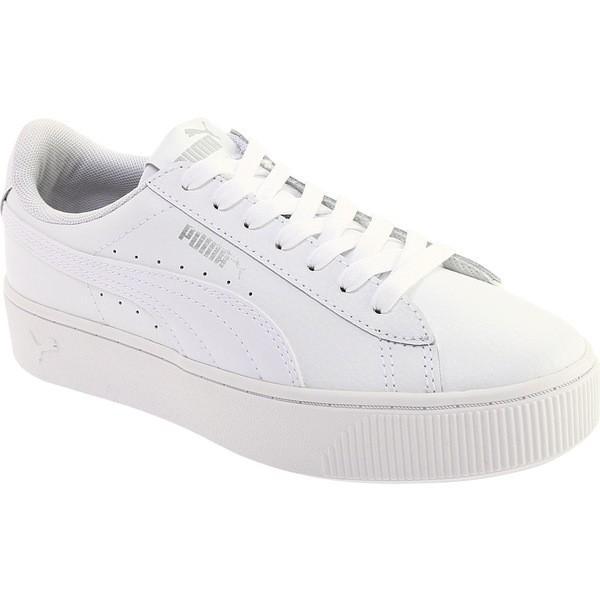 プーマ レディース スニーカー シューズ Vikky Stacked L Flatform Sneaker PUMA White/PUMA White