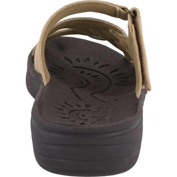 イージーストリート レディース サンダル シューズ Solite Delia Slide Sandal Natural Weave Synthetic
