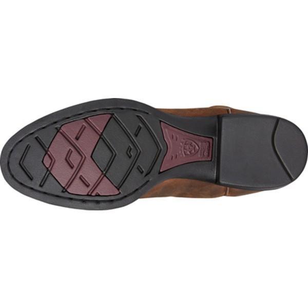 アリアト レディース ブーツ&レインブーツ シューズ Heritage Roper Distressed Brown Full Grain Leather