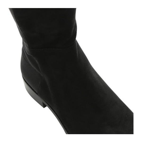 スチュアート ワイツマン レディース ブーツ&レインブーツ シューズ 5050 Suede Over-the-Knee Boot Black Suede