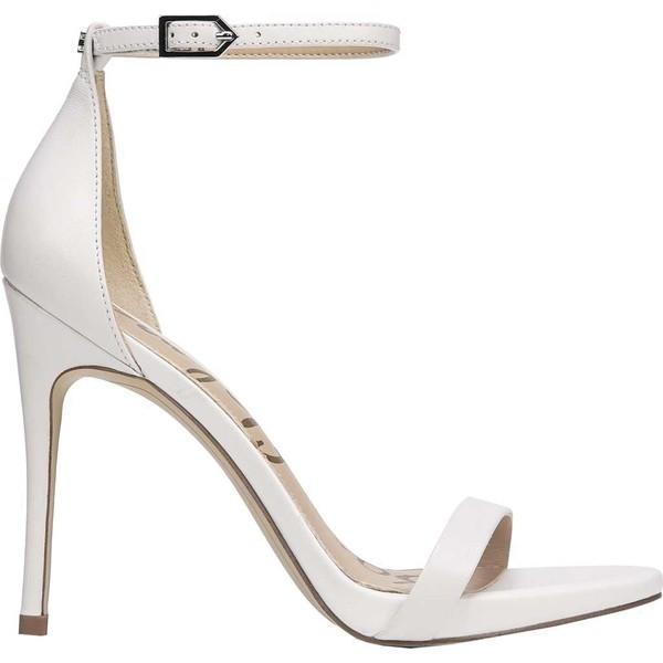 サムエデルマン レディース サンダル シューズ Ariella Ankle Strap Sandal Bright White Nappa Luva Leather