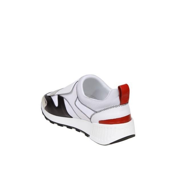 セルジオロッシ スニーカー レディース シューズ Sergio Rossi Sneakers Sr1 Leather And Fabric White Color Multicolor