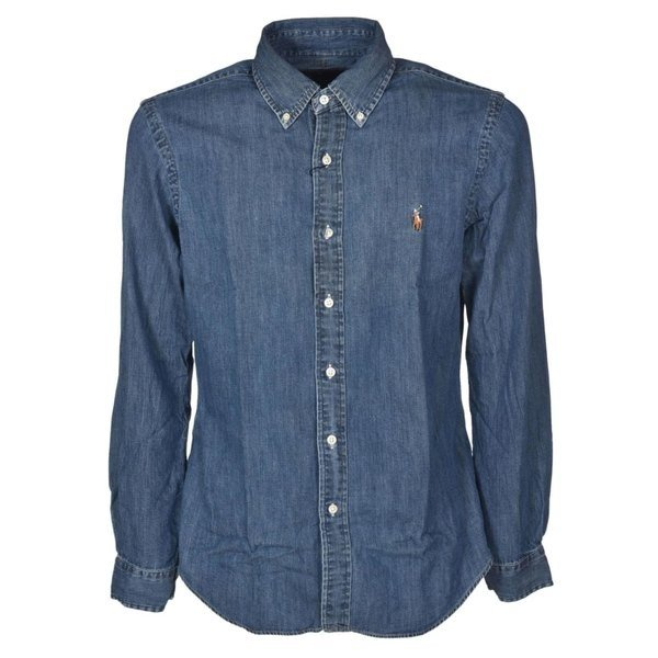 ラルフローレン シャツ メンズ トップス Polo Ralph Lauren Shirt Denim|astyshop