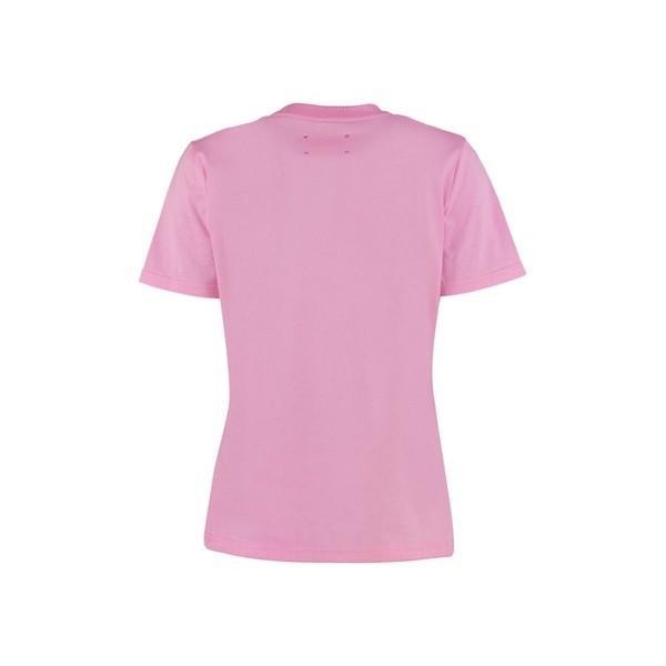 アルベルタ フェレッティ カットソー レディース トップス Alberta Ferretti Je T'aime Cotton T-shirt Pink