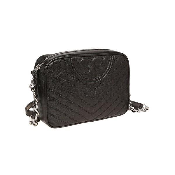 トリーバーチ ショルダーバッグ レディース バッグ Tory Burch Quilted Shoulder Bag Black
