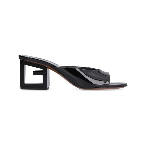 ジバンシー パンプス レディース シューズ Givenchy Patent Leather Mules black