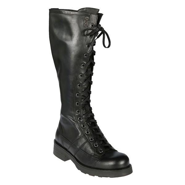 オキシス ブーツ&レインブーツ レディース シューズ Oxs Charlie Lace-up Boots Nero