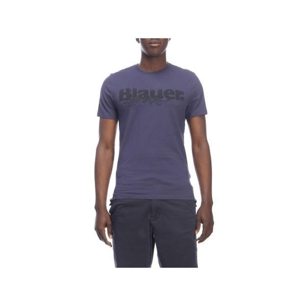 トップス Blauer T-shirt T-shirt Men Blauer blue メンズ カットソー ブラウアー