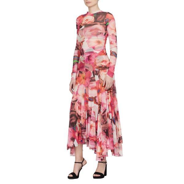 エムエスジイエム カットソー レディース トップス MSGM Top With Floral Pattern Multicolor