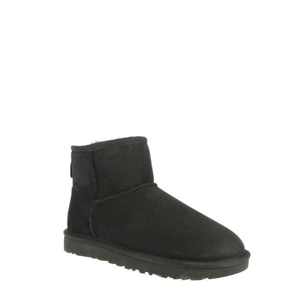 アグ ブーツ&レインブーツ レディース シューズ Ugg Classic Mini Boots Black