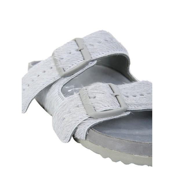 リックオウエンス サンダル レディース シューズ Rick Owens Arizona Birkenstock Sandals GRIGIO