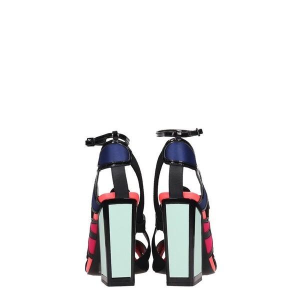 カットマコニー サンダル レディース シューズ Kat Maconie Multicolr Leather Vivi Sandals rosepink