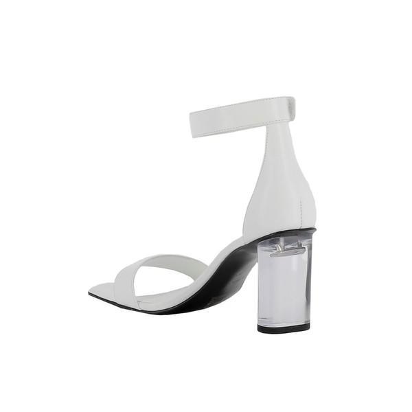 ケンデールアンドカイル サンダル レディース シューズ Kendall+kylie White Leather Sandals WHITE