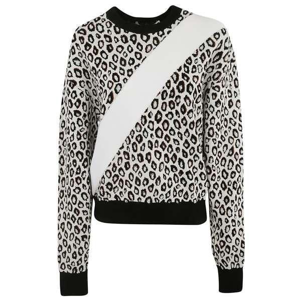 ジバンシー パーカー・スウェットシャツ レディース アウター Givenchy Jacquard Sweatshirt MULTICOLOR