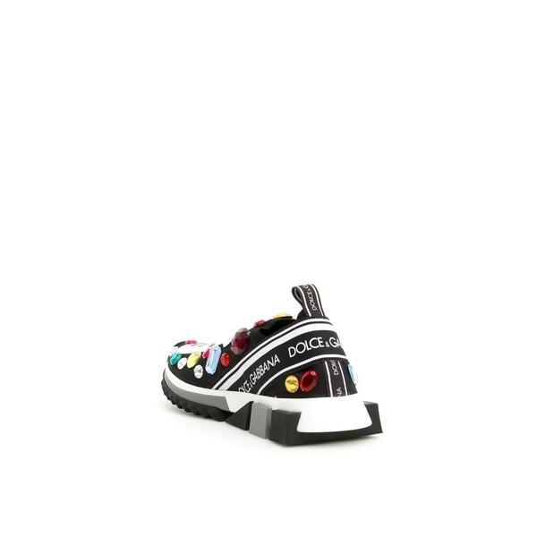 ドルチェ&ガッバーナ スニーカー レディース シューズ Dolce & Gabbana Running Knit Sneakers NEROMULTICOLORBlack