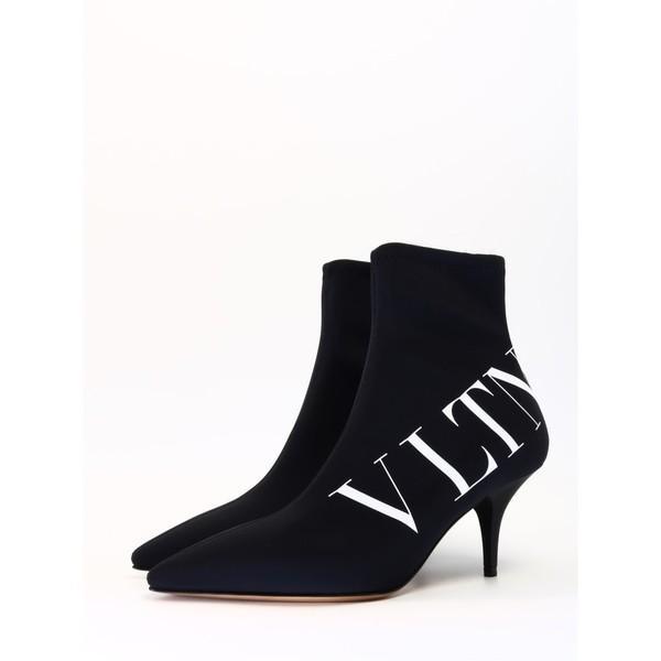 ヴァレンティノ ガラヴァーニ ブーツ&レインブーツ レディース シューズ Valentino Garavani Black Ankle Boot Vltn Black