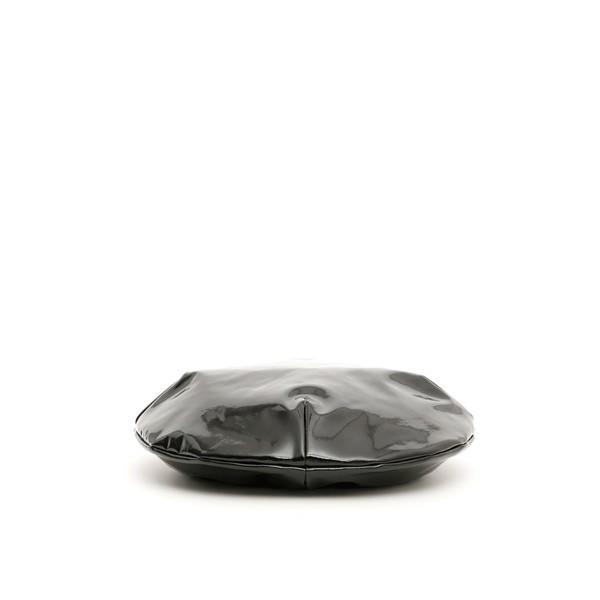 フラッパー 帽子 レディース アクセサリー Flapper Calipso Vinyl Beret BLACKBlack